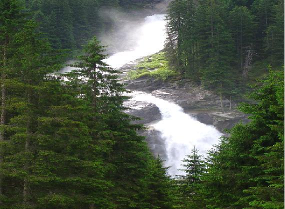 Bild von den Krimmler Wasserfälle