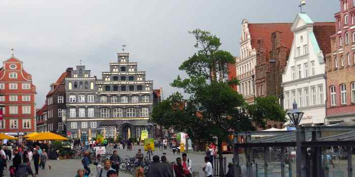 Altstadt Gebäude von Lüneburg