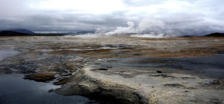 Vulkangebiet Hverir