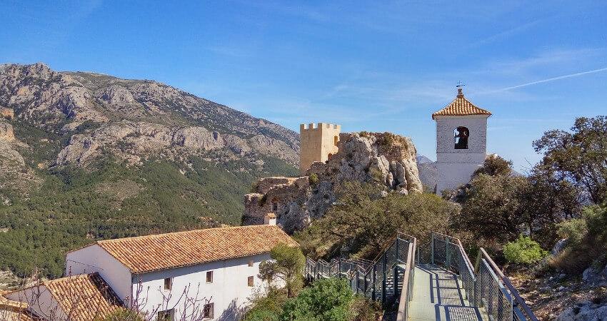 Bild vom Dorf Guadalest