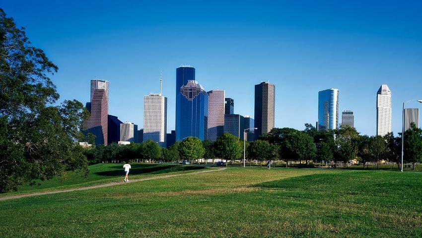 Skyline von Houston.